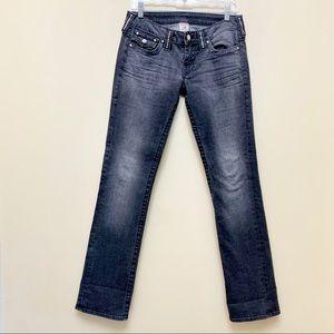 True Religion Disco Billy Straight Jeans Sz 29